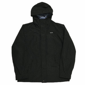 2012 Supreme Black Small Polka Dot Triple Layer Jacket