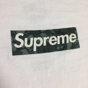 2014 Supreme Unreleased Mo Wax Box Logo Tee