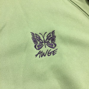 2018 Needles x AWGE A$AP Rocky Green Purple Track Top