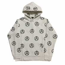 Load image into Gallery viewer, 2016 Supreme Undercover Anarchy White Hoodie
