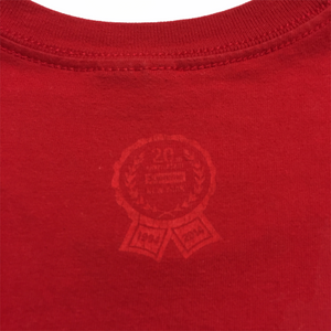 2014 Supreme 20th Anniversary Red Box Logo Tee