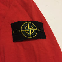 Load image into Gallery viewer, Stone Island Red Longsleeve Crewneck