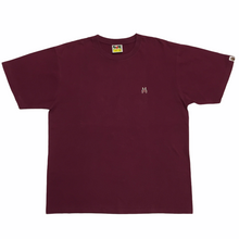Load image into Gallery viewer, BAPE Burgundy Shark Tee