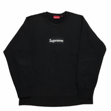 Load image into Gallery viewer, 2015 Supreme Black Box Logo Crewneck