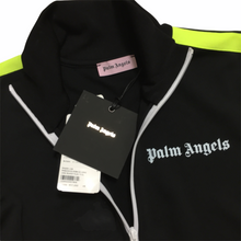 Load image into Gallery viewer, Palm Angels Neon Yellow Black Track Top