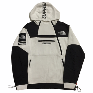 2016 Supreme x The North Face White Steep Tech Fleece