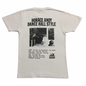 2013 Supreme White Horace Andy Tee