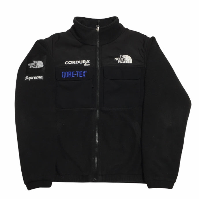 2018 Supreme x The North Face Black Cordura Fleece