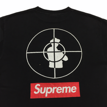 Load image into Gallery viewer, 2006 Supreme x Public Enemy Black Tee
