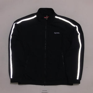 2016 Supreme Black 3M Track Jacket