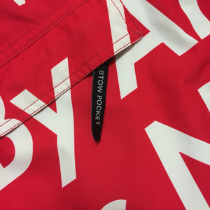 2015 Supreme x The North Face By Any Means Necessary Red Pullover