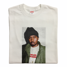 Load image into Gallery viewer, 2017 Supreme Nas White Photo Tee