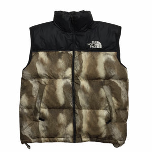 2013 Supreme x The North Face Fur Nuptse Vest