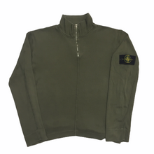 Load image into Gallery viewer, Stone Island Olive 1/4 Zip Up