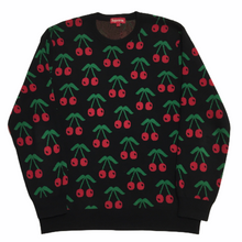Load image into Gallery viewer, 2014 Supreme Cherry Knit Crewneck