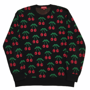 2014 Supreme Cherry Knit Crewneck