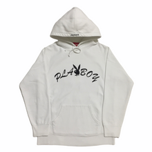 Load image into Gallery viewer, 2017 Supreme Playboy White Hoodie