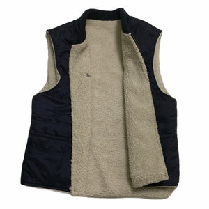 2016 Supreme Reversible Wool Logo Vest