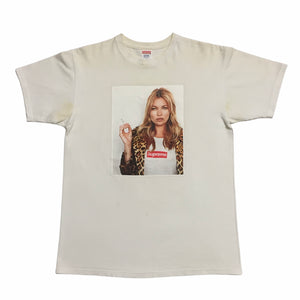 2012 Supreme Kate Moss White Photo Tee