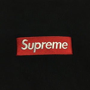 2015 Supreme Navy Box Logo Crewneck