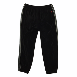2016 Supreme Black Grey Velour Trackpants