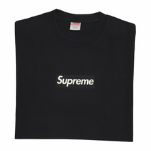 Load image into Gallery viewer, 2003 Supreme Black Tonal Box Logo Tee