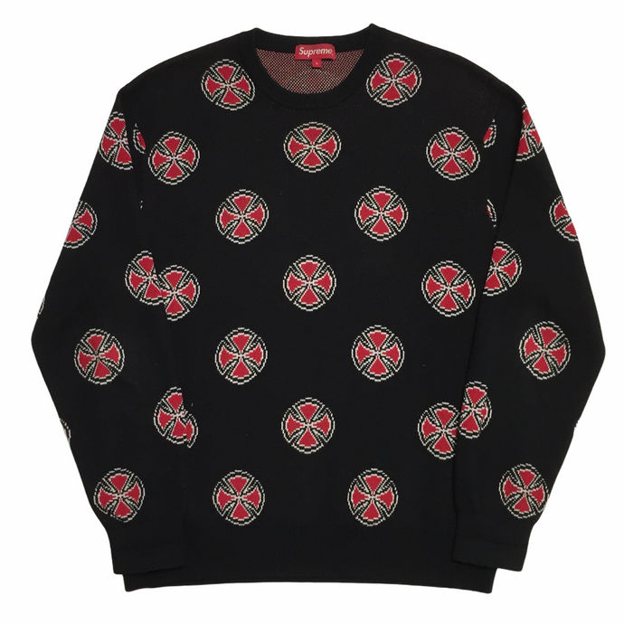 2015 Supreme x Independent Knit Crewneck