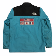 Load image into Gallery viewer, 2014 Supreme x The North Face Teal Expedition Coach