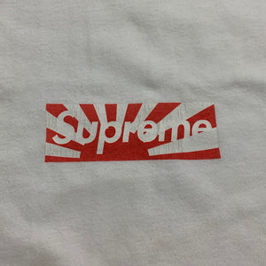 2011 Supreme Japan Relief Box Logo Tee