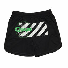 Load image into Gallery viewer, Off-White Harry The Bunny Black Mesh Shorts
