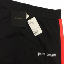 Load image into Gallery viewer, Palm Angels Orange Black Trackpants