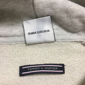 2018 VETEMENTS x Tommy Hilfiger Grey Hoodie