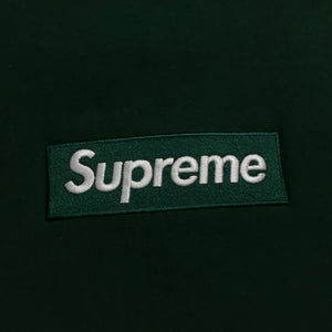 2018 Supreme Forest Green Box Logo Crewneck