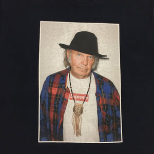 2015 Supreme Neil Young Navy Photo Tee