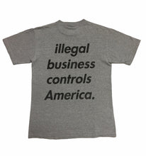 Load image into Gallery viewer, 2005 Supreme Illegal Business Controls America Tee