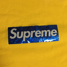 Load image into Gallery viewer, 2006 Supreme Yellow Hologram Box Logo Tee