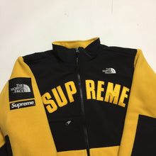 Load image into Gallery viewer, 2019 Supreme x The North Face Yellow Arc Logo Fleece