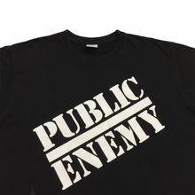 Load image into Gallery viewer, 2018 Supreme x Public Enemy x Undercover Blow Your Mind Black Tee