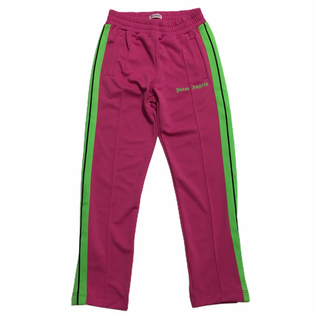 Palm Angels Pink Neon Green Trackpants