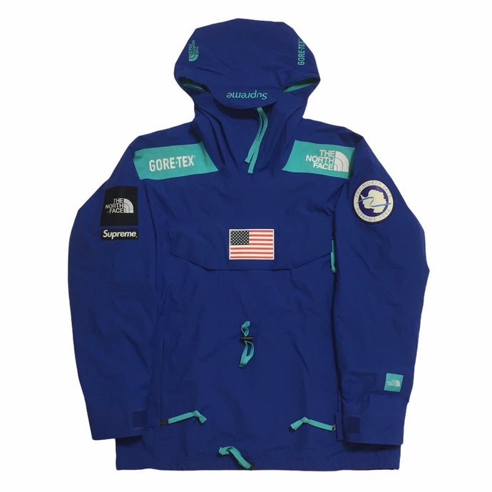 2017 Supreme x The North Face Blue Antartica Expedition Pullover