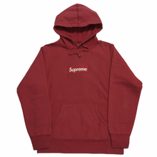 Load image into Gallery viewer, 2011 Supreme Red Box Logo Hoodie
