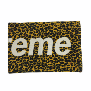 2009 Supreme Yellow Leopard Towell