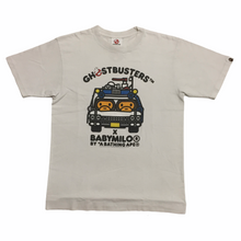Load image into Gallery viewer, 2009 BAPE Ghostbusters White Tee