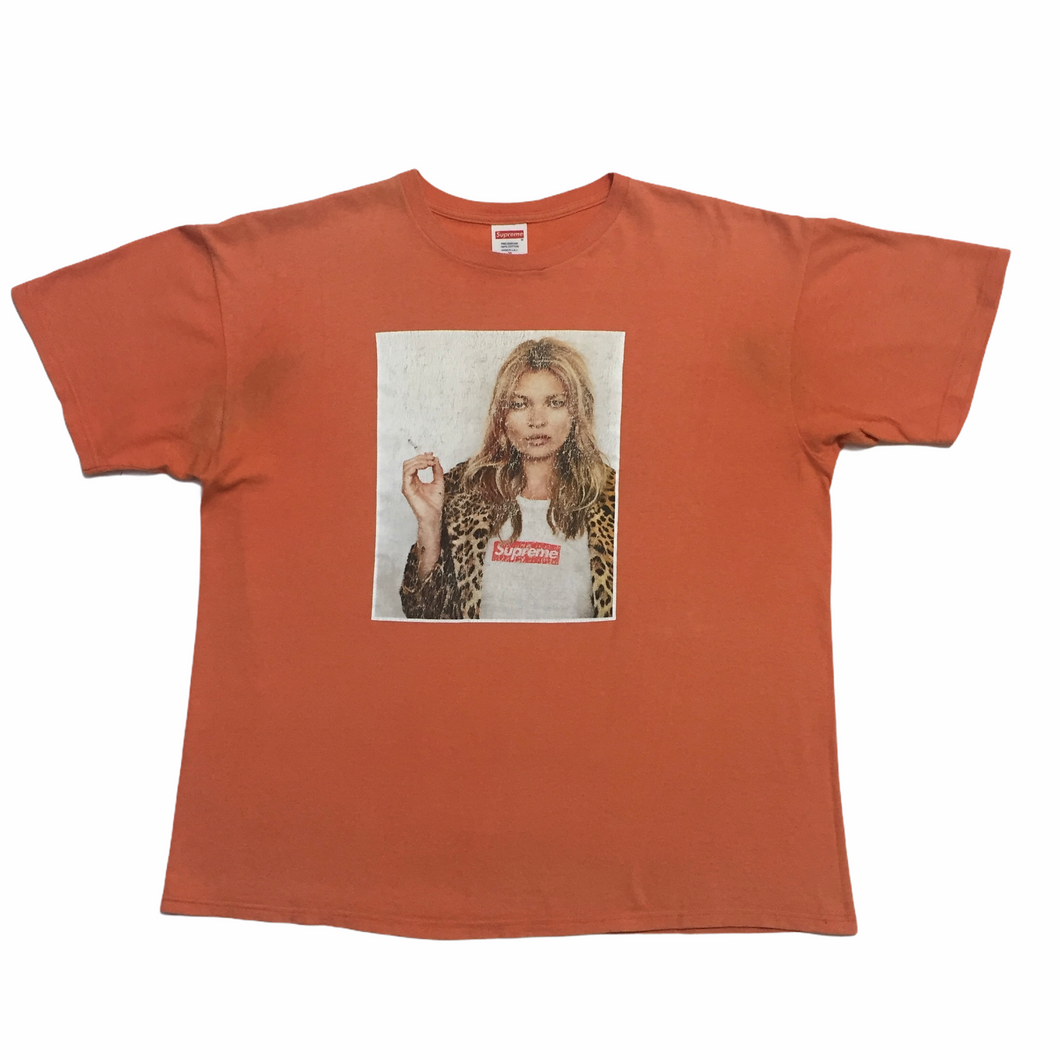 2012 Supreme Kate Moss Orange Photo Tee