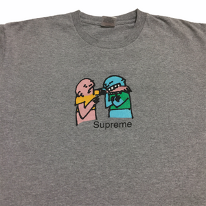2019 Supreme Grey Bite Tee