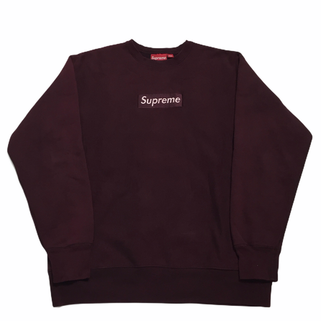 1999 Supreme Wine Box Logo Crewneck
