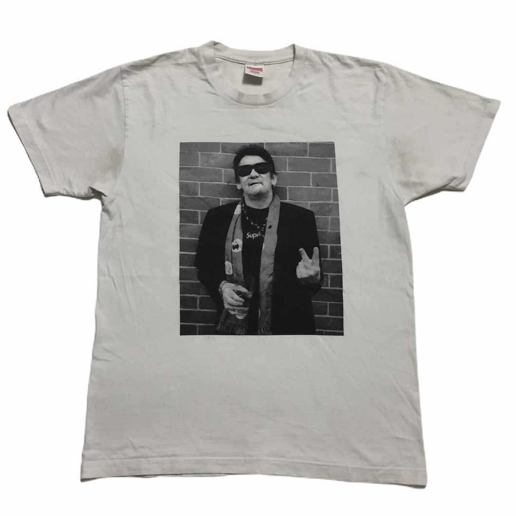2013 Supreme Shane McGowan White Photo Tee