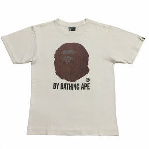 BAPE Wooden Ape Head Tee