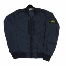 Load image into Gallery viewer, Stone Island Navy Bomber Jacket