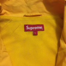 Load image into Gallery viewer, 2016 Supreme Yellow 3M Reflective Tracktop Jacket
